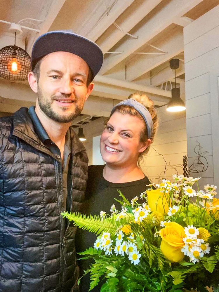 Photo of Tiffany Ball, the new owner of The Flower Shop at Castle Pines