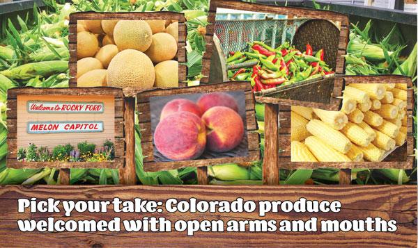 Photo of Colorado produce