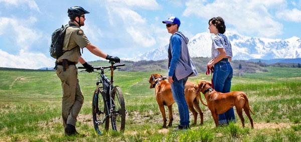 Photo of Douglas County Bike Patrol.