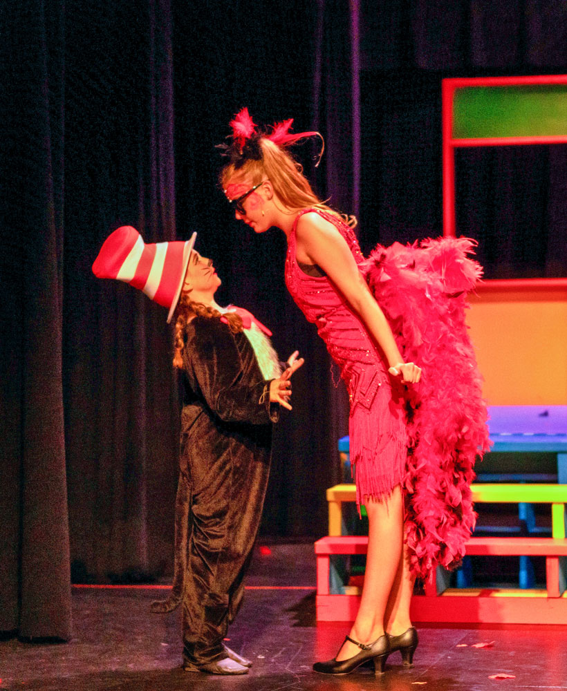 Photo of Cat in the Hat stirring up trouble