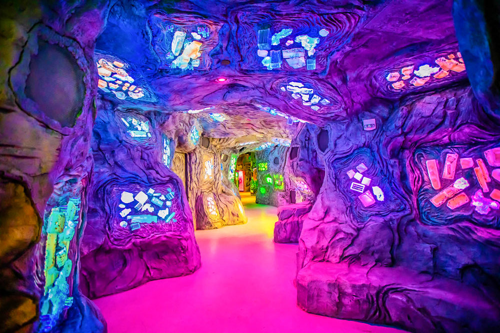 """Photo of Meow Wolf's new Denver exhibit, """"Convergence Station,"""""""