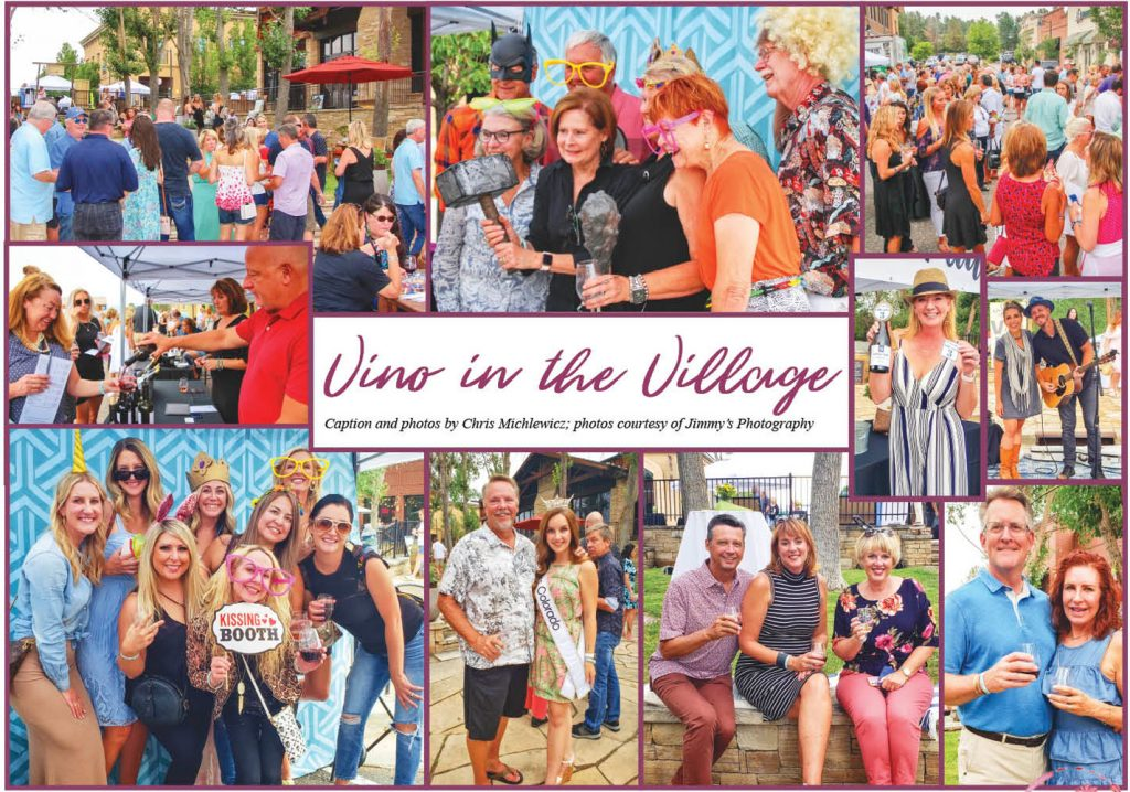 Collage of Vino in the Village