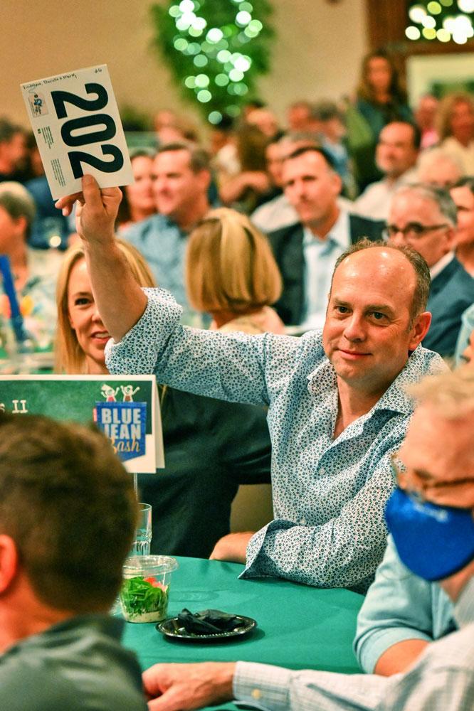 Photo of Blue Jean Bash live auction