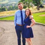 Photo of Meredith Wilemon and her boyfriend, Christian Clodfelder