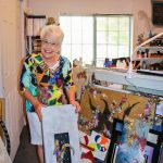Photo of Evette Goldstein – artist and engineer