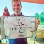Photo of David Schiller celebrating a Hole In One at The Ridge
