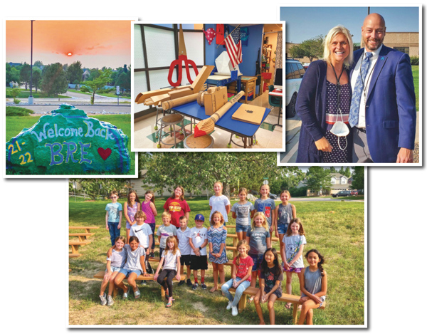 Photo of BRE welcome for 2021-22 school year