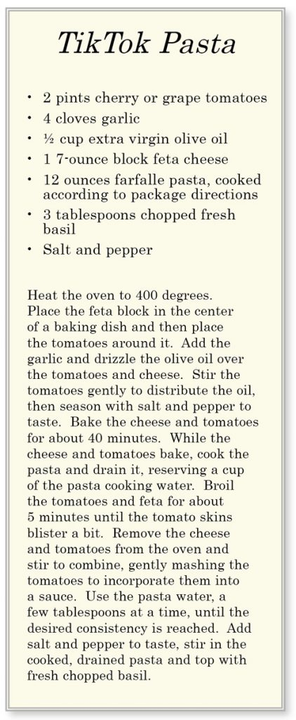 TikTokPasta Recipe