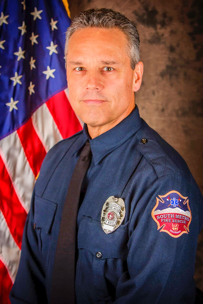 "Photo of South Metro Fire Rescue Firefighter Paramedic Anthony ""Tony"" Palato."