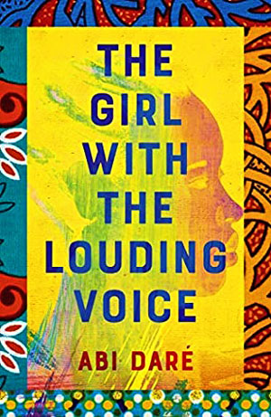 Photo of book jacket of The Girl with the Louding Voice
