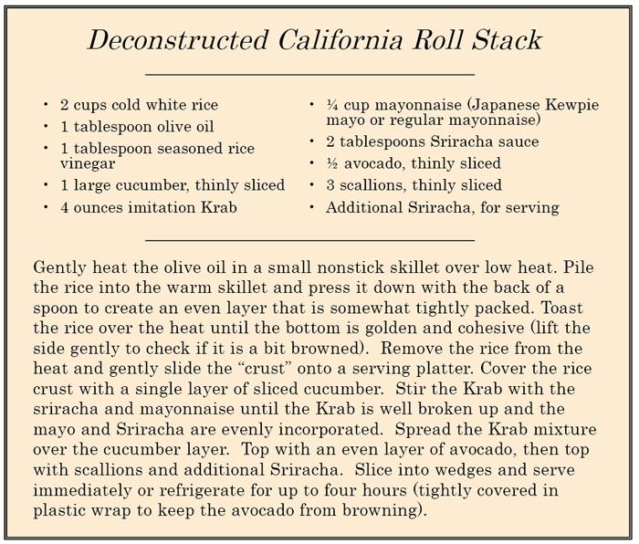 CaliforniaRollRecipe