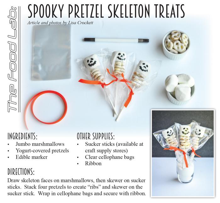 Spooky Pretzel Recipe